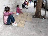 Dilencilik yapan 6 çocuğun ailesine işlem yapıldı