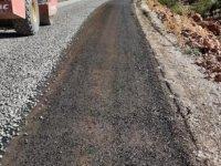 Kayseri'de 6 kırsal bölgede yol çalışması