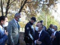 Vali Günaydın ve Başkan Büykkılıç'tan Pınarbaşı çıkarması