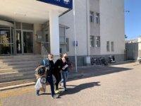Kayseri'de kablo çalan hırsız adliyeye sevk edildi