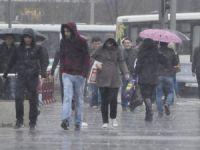 Kayseri'de bu sabah başlayan yağmur etkili oldu