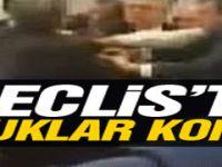 AK Partili ve CHP'li vekiller birbirine girdi-video