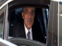 """Gül """"Allahaısmarladık"""" diyerek Ankara'ya gitti"""