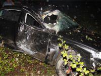 Almanya'dan gelen gurbetçi kaza yaptı: 2 ölü