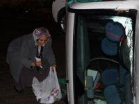 Kayseri'de Otomobil takla Attı 2 kişi yaralandı