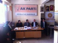 Ak Parti Kayseri Milletvekili A.adayı Suat Özsoy İlçeleri ziyaret etti