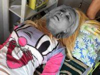 Esra - Ceyda kardeşler trafik kazası geçirdi