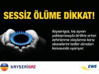 KAYSERİGAZ'DAN KIŞ AYI ÖNCESİ HATIRLATMALAR