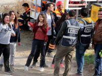 KAYSERİ'DE İLGİNÇ BİR DEPREM TATBİKATI
