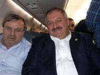 Kayseri Organize Sanayi Bölgesi Aslanları Moskova'dan Türkiye'ye döndüler