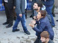 Tahir Elçi'nin eşi Katil PKK diye bağırdı