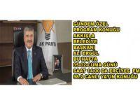 AKKIŞLA BELEDİYE BAŞKANI ALİ ERGÜL ERCİYES FM CANLI YAYIN KONUĞU