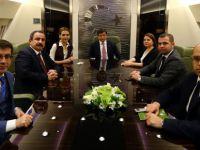 SİNAN BURHAN BAŞBAKAN DAVUTOĞLU İLE KAZAKİSTAN'A GİDİYOR