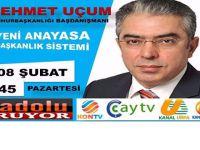 Anadolu Medyası Yeni Anayasa ve Başkanlık Sistemini Konuşacak