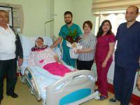 Yaşar Karayel Devlet hastanesi'nde ilk ameliyat
