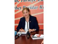 CHP KAYSERİ KADIN KOLLARI BAŞKANI ŞEHRİBAN PEKER: