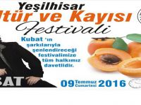 YEŞİLHİSAR'DA FESTİVAL KUBAT GELİYOR