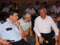 Başkan Zekeriya Karayol demokrasi nöbetinde