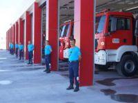 Kayseri OSB'nin yeni itfaiye binası hizmete hazır