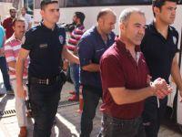 FETÖ operasyonu gözaltına alınan 43 polis adliyeye çıkarıldı