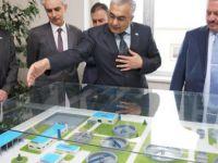 Kayseri OSB Yönetim Kurulu Başkanı Nursaçan Atıksu Arıtma Tesisini inceledi