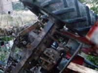 İncesu'da traktör devrildi: 1 ölü 3 yaralı