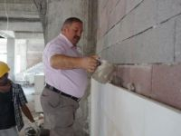 Kayseri OSB'nin 10 bin kişilik cami inşaat çalışmaları devam ediyor