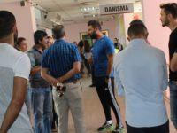 Kayserispor trafik kazası geçiren Kadir'i ziyaret etti
