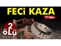 Sivas'ta feci kaza: 2 çocuk öldü