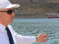 Yamula Barajı kıyısında değişik sosyal mekanlar