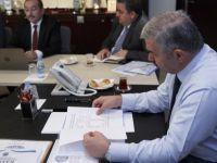 Kayseri Büyükşehir'de yatırım toplantısı