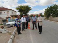 İncesu Belediyesi yaya kaldırımı çalışmalarına başladı