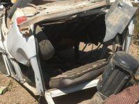 İki aracın çarpıştığı trafik kazasında 3 kişi yaralandı