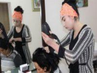 Nevşehir'de kasabanın tek kadın esnafı oldu