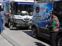 Dünyanın en iyisi olan temizlik araçları Büyükşehir'de