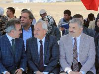 Başkan Çelik İncesu'da Terzi Kent'in temel atma törenine katıldı