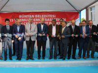 Bilal Erdoğan Bünyan'da Şehit Cennet Yiğit'in adını taşıyan parkın açılışına katıldı