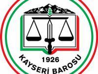 Kayseri'de Baro Başkanlığı seçimi ertelendi