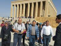 Develi Belediye Başkanı Mehmet Cabbar Anıtkabir'i ziyaret etti