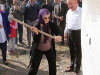 Kocasinan'da kentsel dönüşüm ikinci yıkım gerçekleştirildi