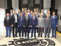 KTO Sanayi Odası yeni yönetimini ziyaret etti