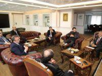 MÜSİAD Kayseri Şubesi Yönetim Kurulu Üyelerinin Melikgazi Ziyareti