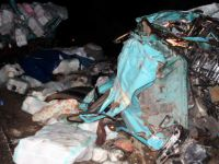 Tankerle kamyon kafa kafaya çarpıştı: 1 ölü