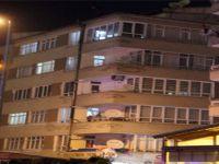 Hastaneler'de Bina çatısına çıkarak intihar etmek istedi