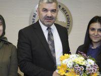 Başkan Çelik kurum yöneticilerinin taleplerini dinledi