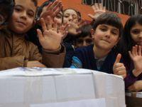 Kayseri'de İlkokul öğrencilerinden anlamlı yardım