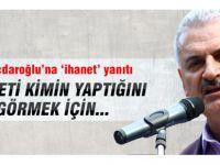 Başbakan Yıldırım'dan Kılıçdaroğlu'na ihanet çıkışı