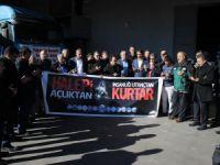 Memur-Sen Kayseri Şubesi'nin Halep'e yardımları devam ediyor