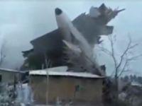 Türk kargo uçağı Bişkek'te düştü: 37 ölü
