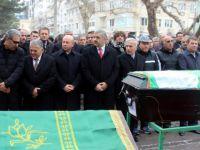 Erol Bedir'in acı günü Melek Bedir şehir mezarlığına defnedildi
